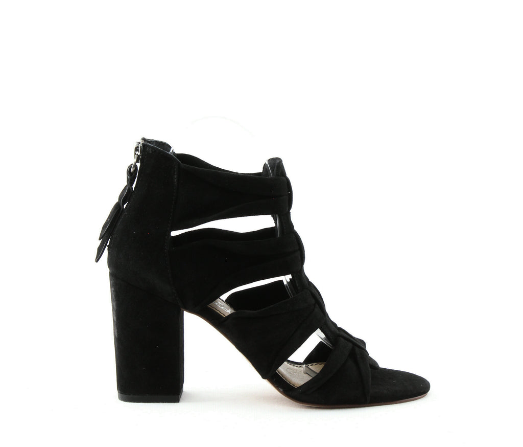 Yieldings Discount Shoes Store's Nando Heeled Sandals by Splendid in Black