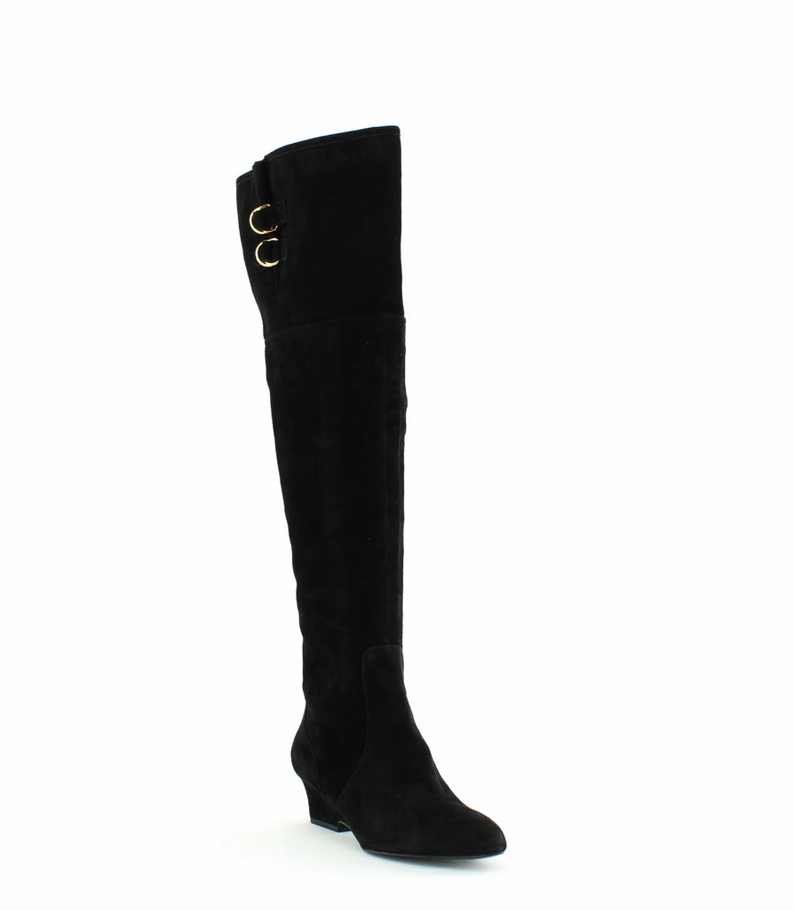 Nine West | Jaen Suede Pointed Toe Over-The-Knee Boots