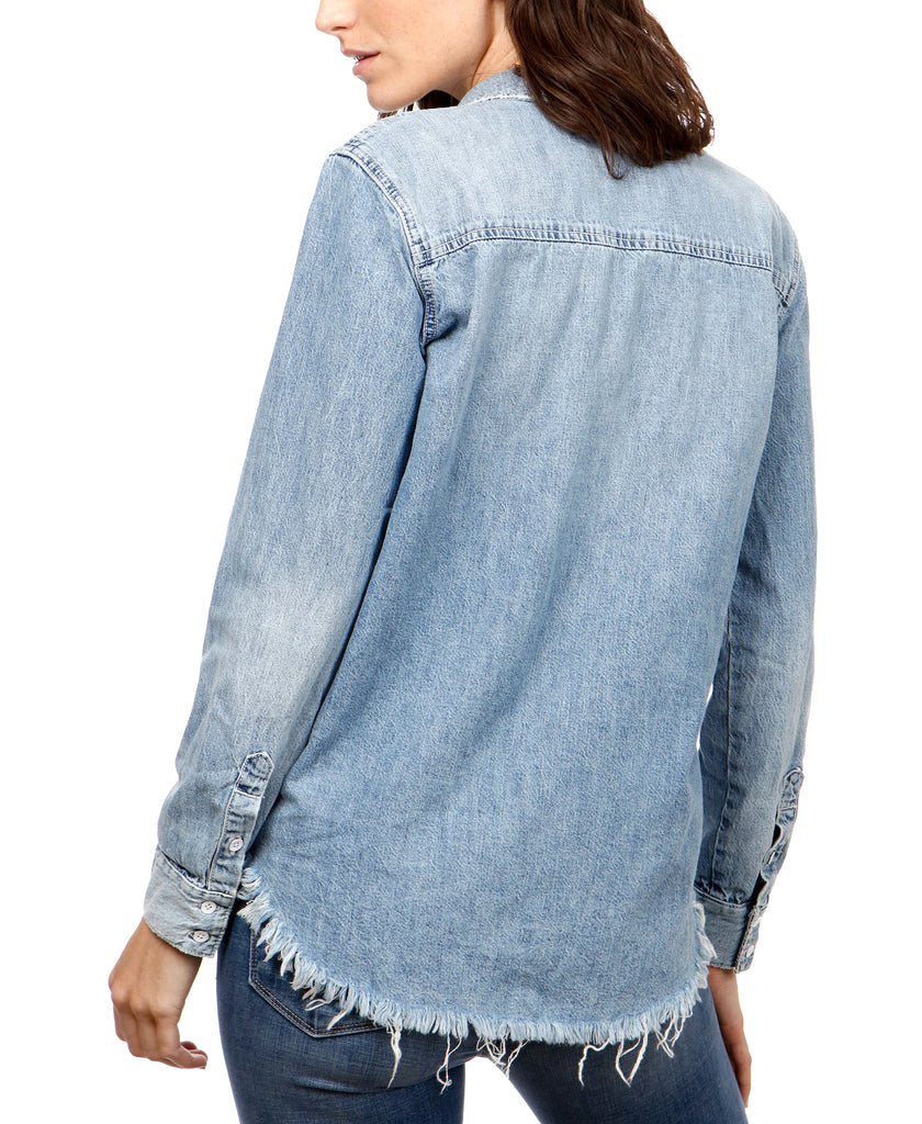 Lucky Brand | Denim Boyfriend Shirt