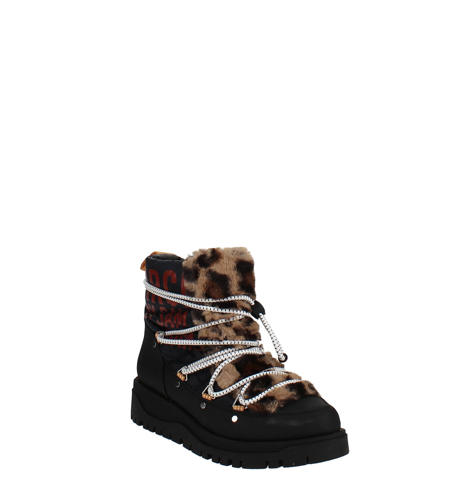 Yieldings Discount Shoes Store's Rex Cold Weather Boots by Circus by Sam Edelman in Navy/Leopard