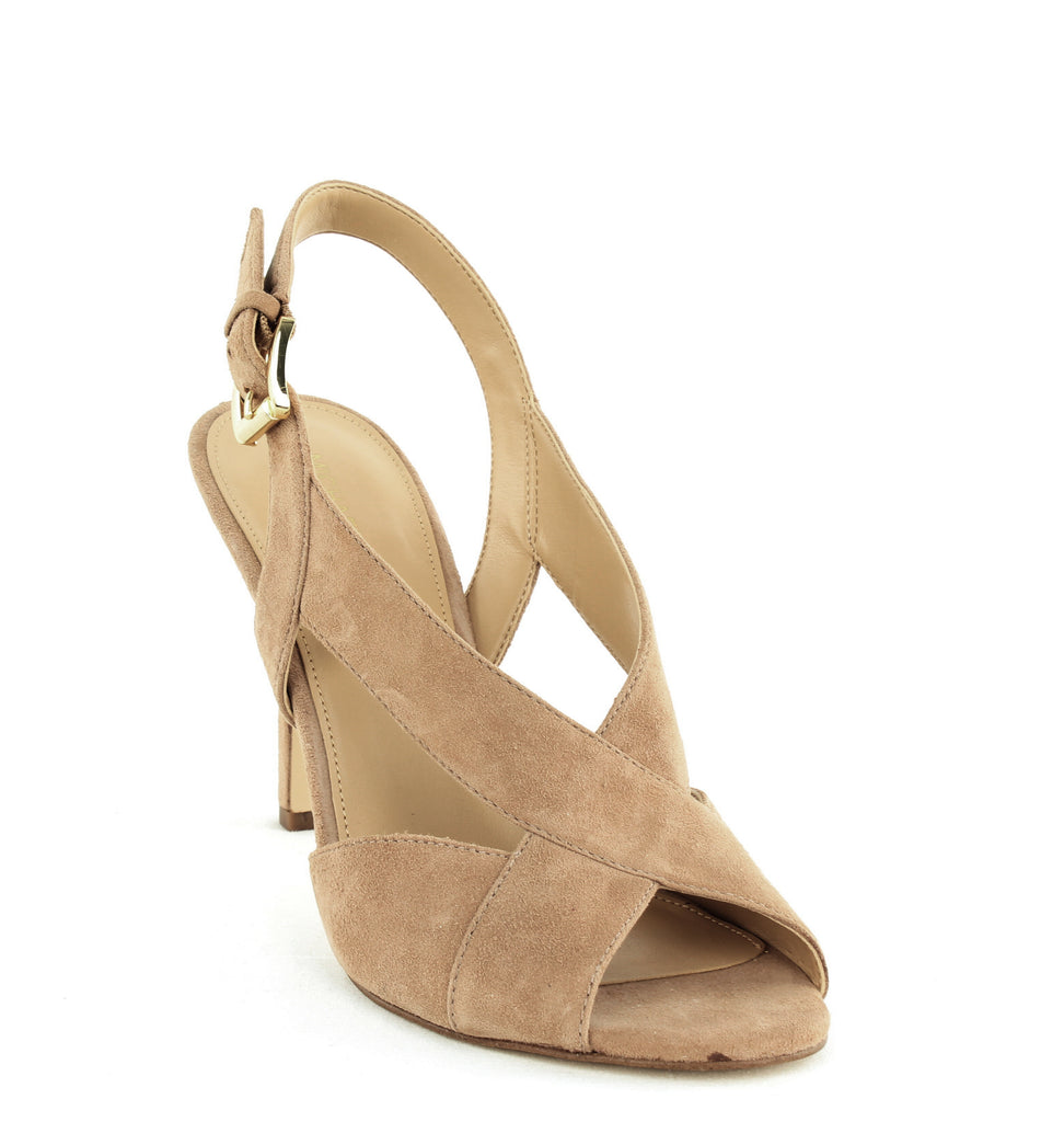 Yieldings Discount Shoes Store's Becky Dress Sandals by MICHAEL Michael Kors in Dark Khaki
