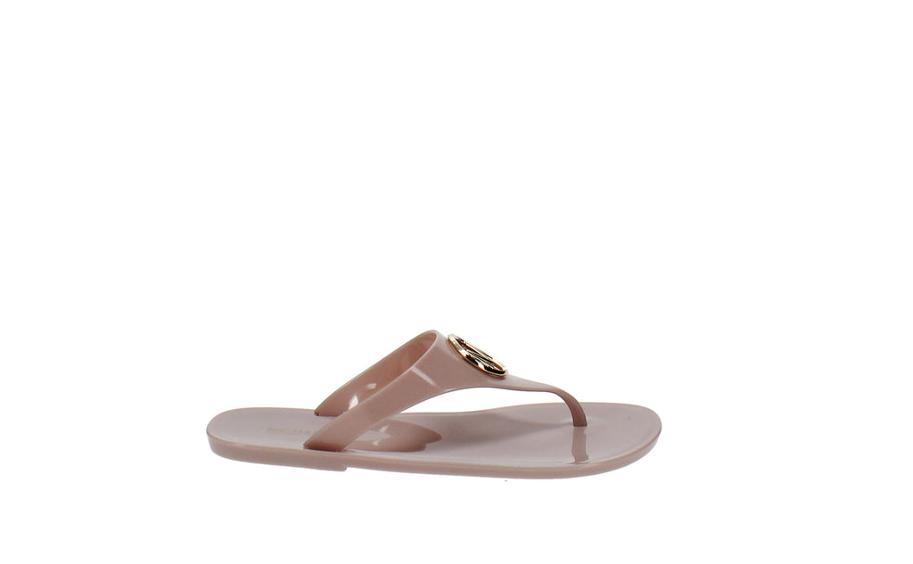 Yieldings Discount Shoes Store's Lillie Jelly Flip Flop by MICHAEL Michael Kors in Soft Pink