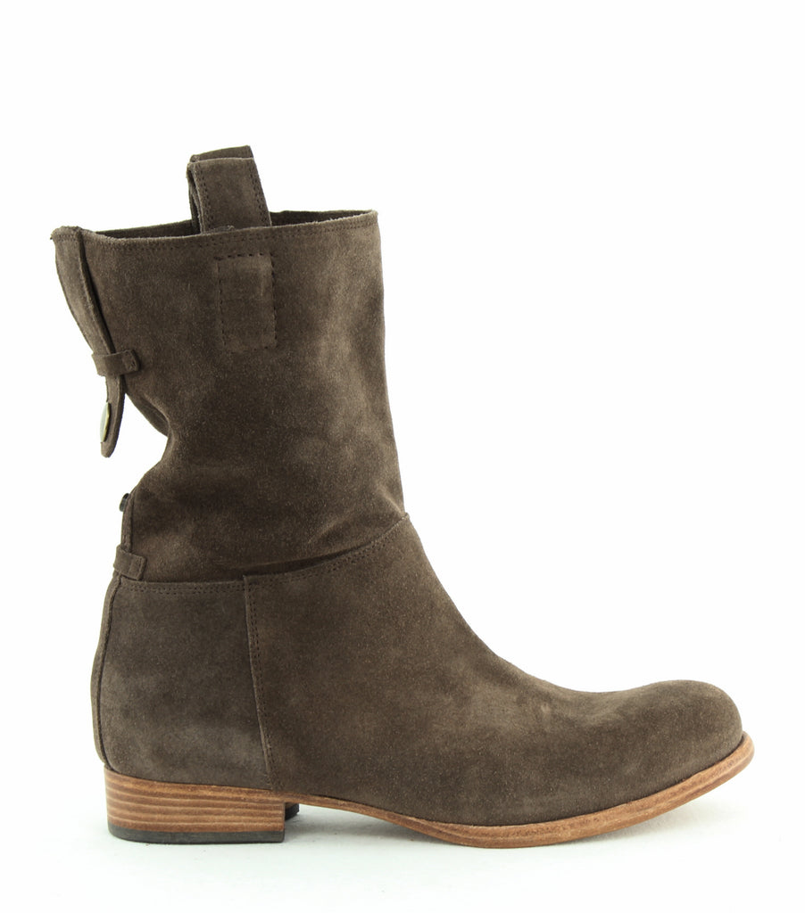 Yieldings Discount Shoes Store's Umbria Ankle Booties by Alberto Fermani in Tortora