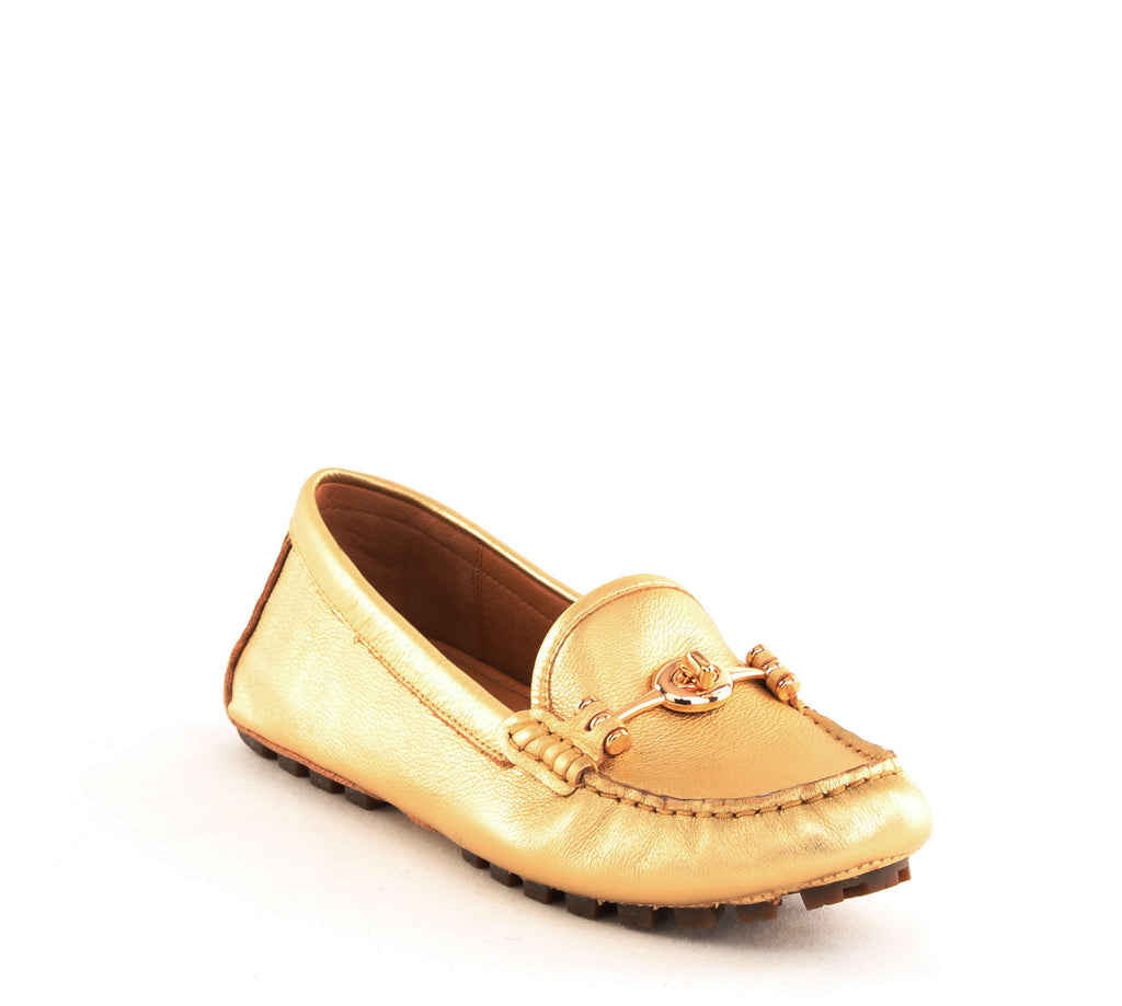 Coach | Arlene Metallic Tumbled Loafers