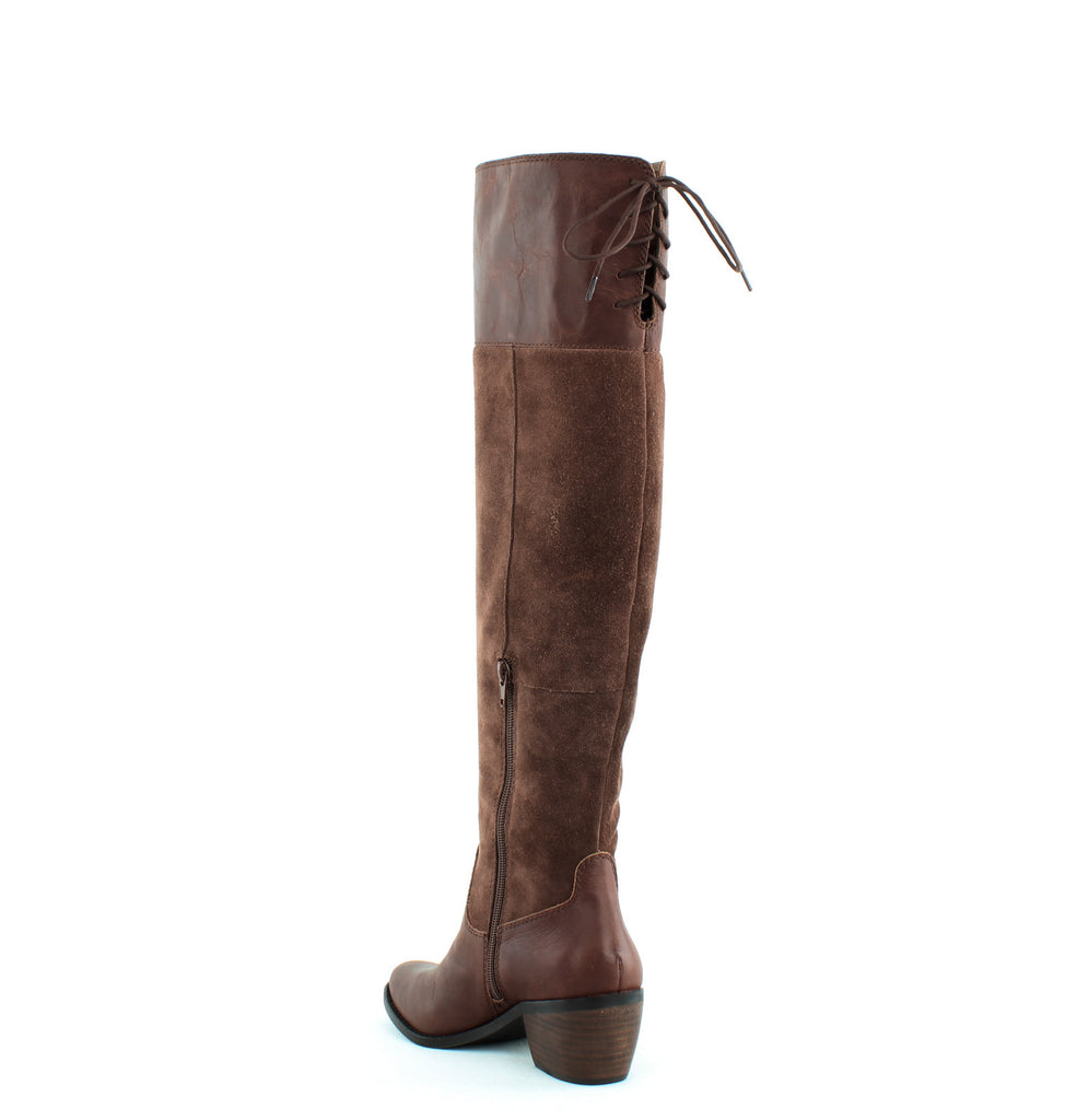 Yieldings Discount Shoes Store's Komah Tall Boots by Lucky Brand in Tobacco
