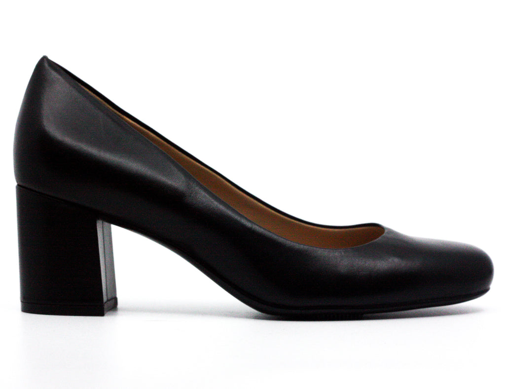 Naturalizer | Whitney Leather Block Heel Pumps
