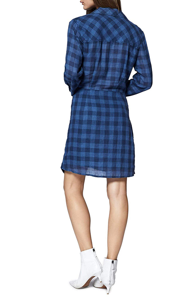 Yieldings Discount Clothing Store's Casual Woven Shirtdress by Sanctuary in Blue Life