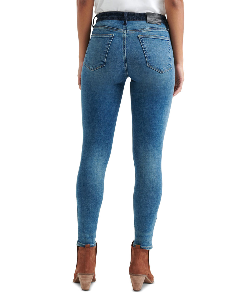 Yieldings Discount Clothing Store's Remade Ava Skinny Jeans by Lucky Brand in Sanger