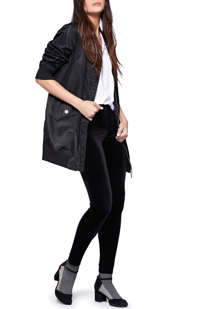 Yieldings Discount Clothing Store's All The Good Things Bomber by Sanctuary in Black