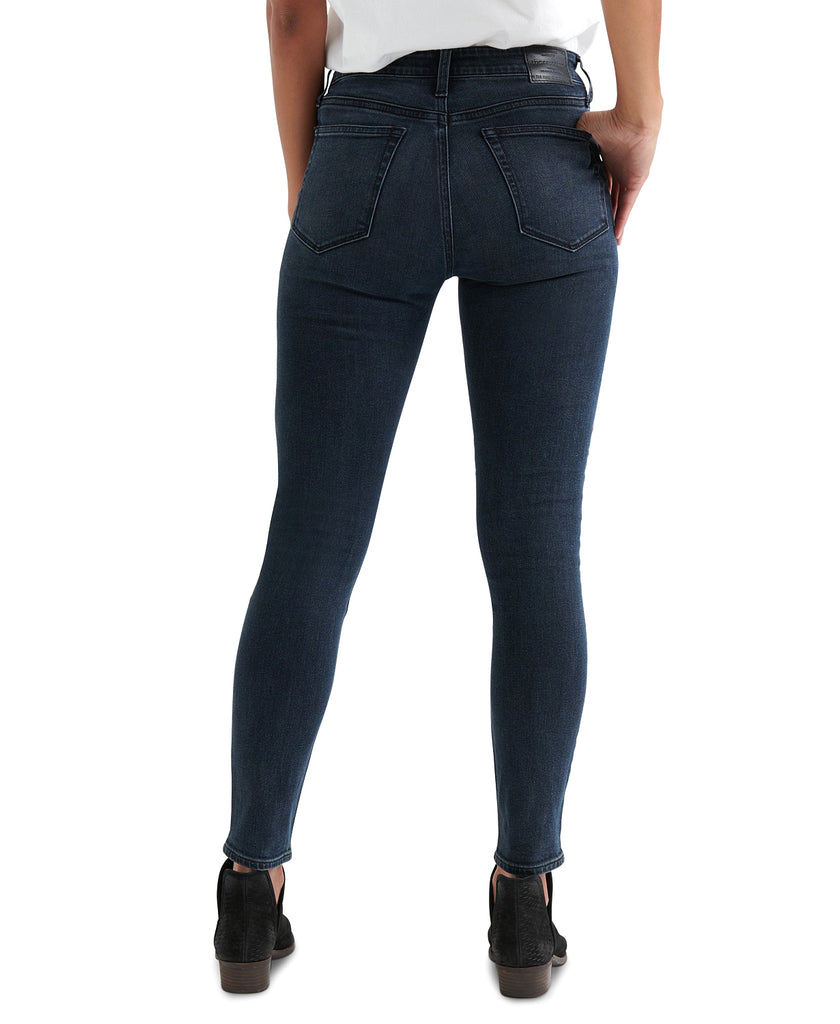 Yieldings Discount Clothing Store's Ava Skinny Ankle Jeans by Lucky Brand in Arkansas River