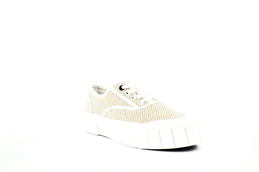 Good News | Woven Low-Top Platform Sneakers