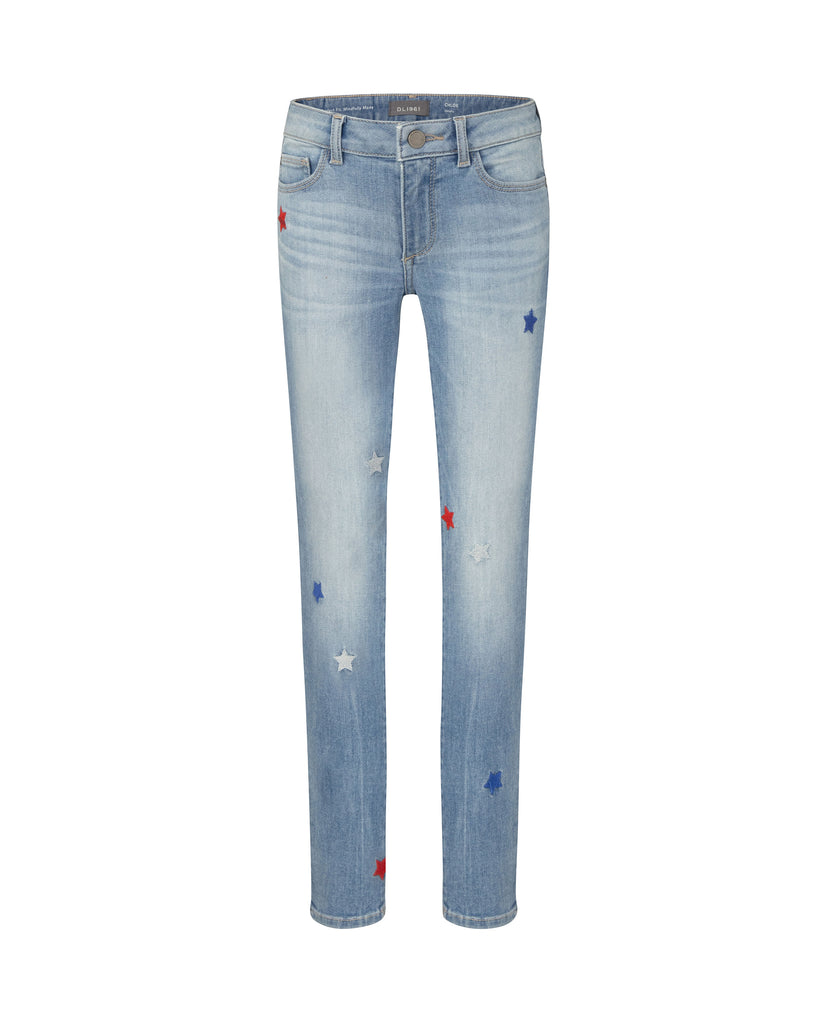 Yieldings Discount Clothing Store's Chloe - Skinny by DL1961 in Patriot