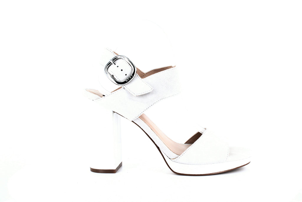 Yieldings Discount Shoes Store's Bell Sling Back Sandals by DKNY in Linen