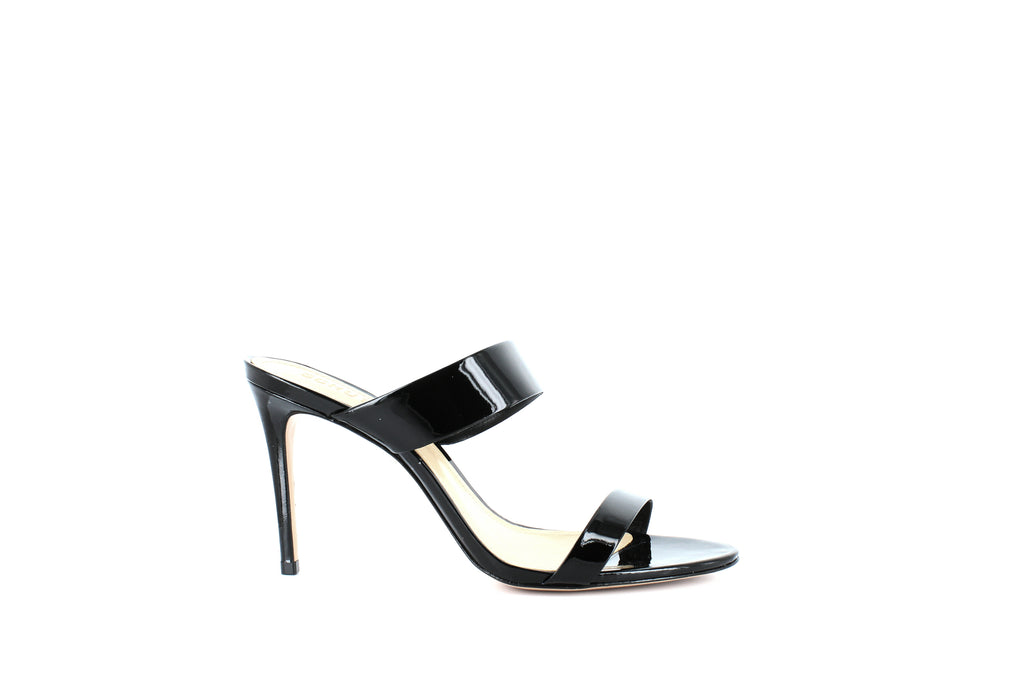 Yieldings Discount Shoes Store's Leia High-Heel Sandals by Schutz in Black