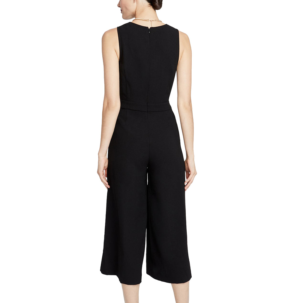 Yieldings Discount Clothing Store's Addison Twisted Jumpsuit by RACHEL Rachel Roy in Black