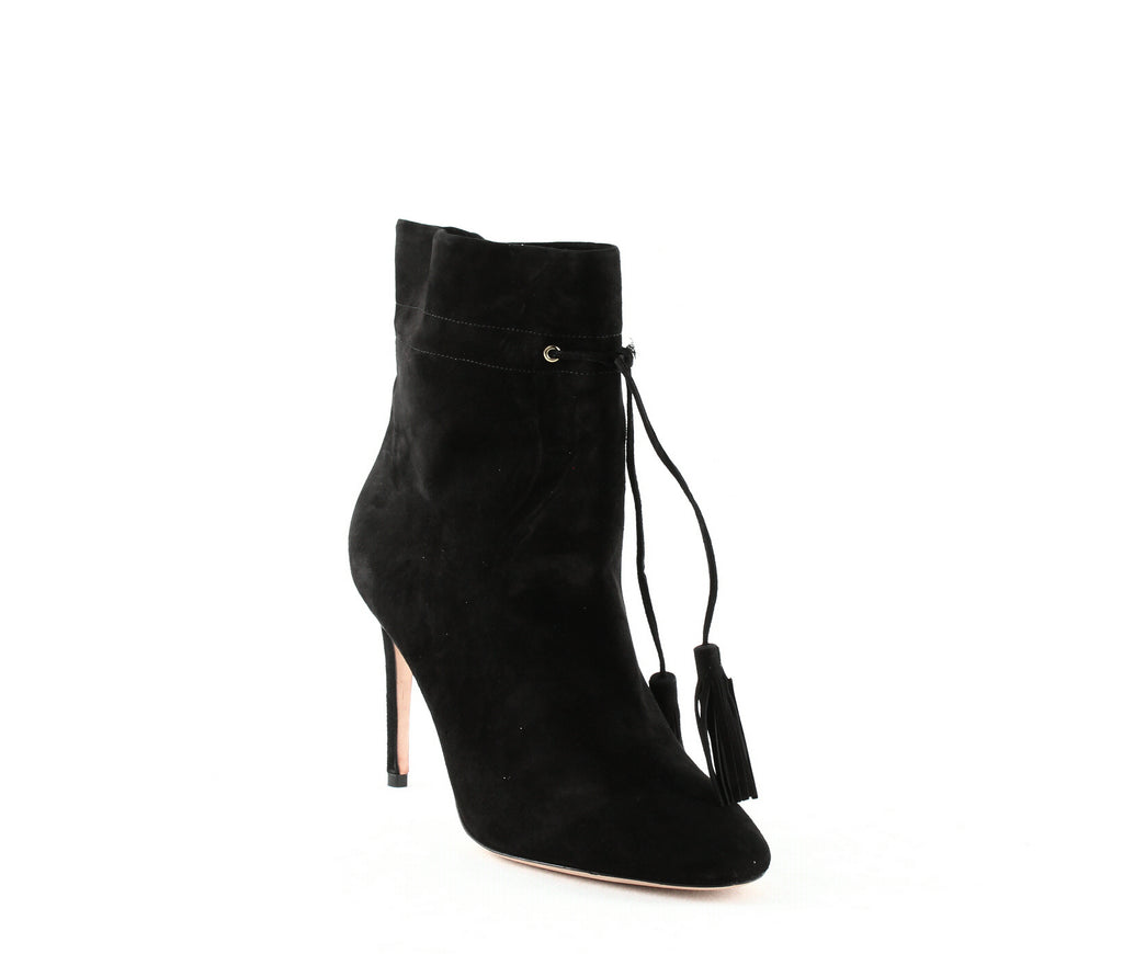 Yieldings Discount Shoes Store's Dillane High-Heel Boots by Kate Spade in Black Suede