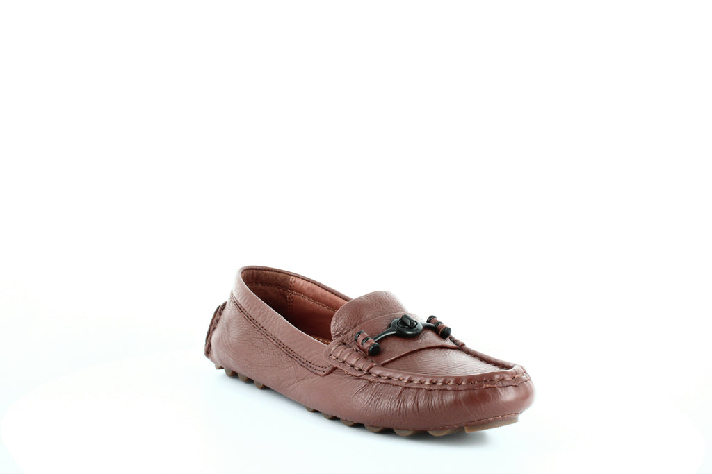 Yieldings Discount Shoes Store's Crosby Driver Loafers by Coach in Saddle