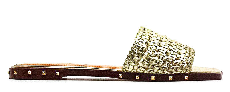 Marc Fisher | Jeremy Leather Weave and Studded Sandals