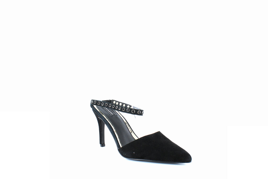 Yieldings Discount Shoes Store's Opulent Studded Pumps by Jaggar in Black