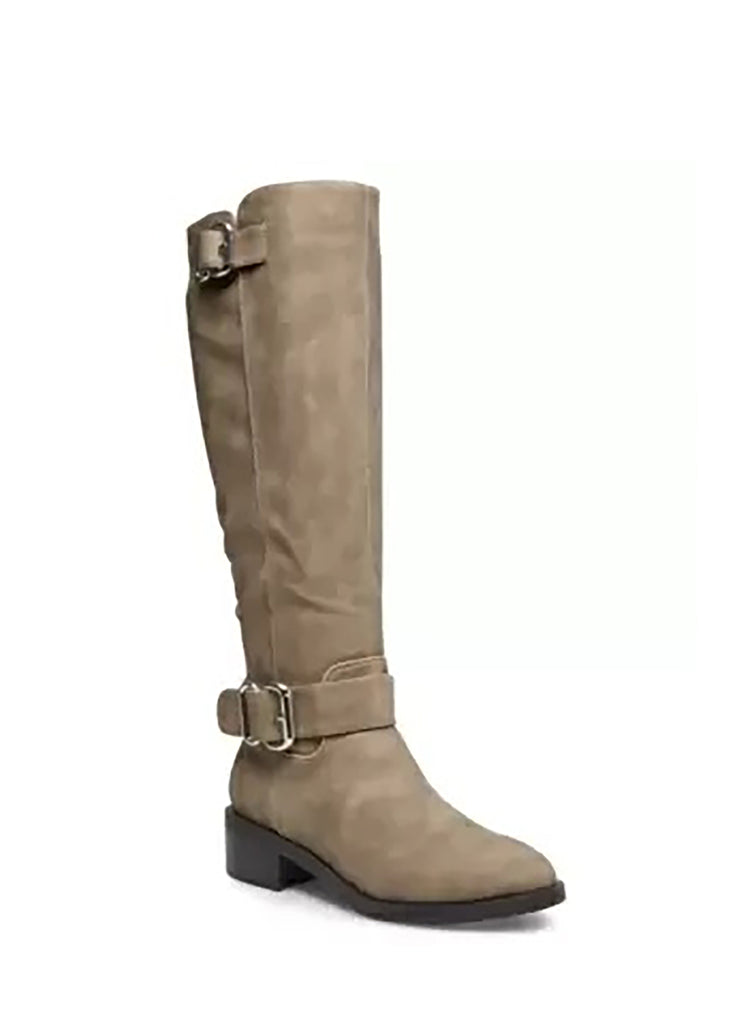 Yieldings Discount Shoes Store's Wit Riding Boots by Madden Girl in Taupe