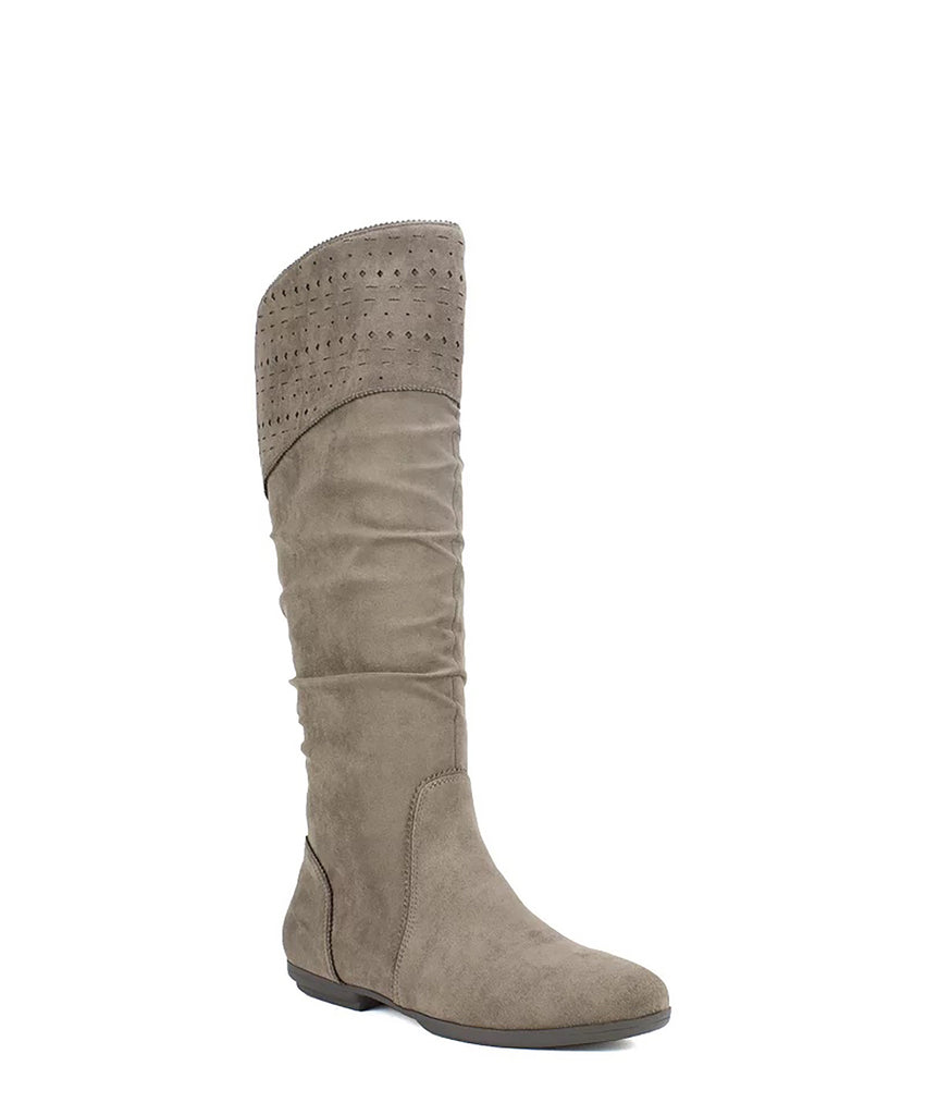 Yieldings Discount Shoes Store's Dillon Slouch Boot by Seven Dials in Stone