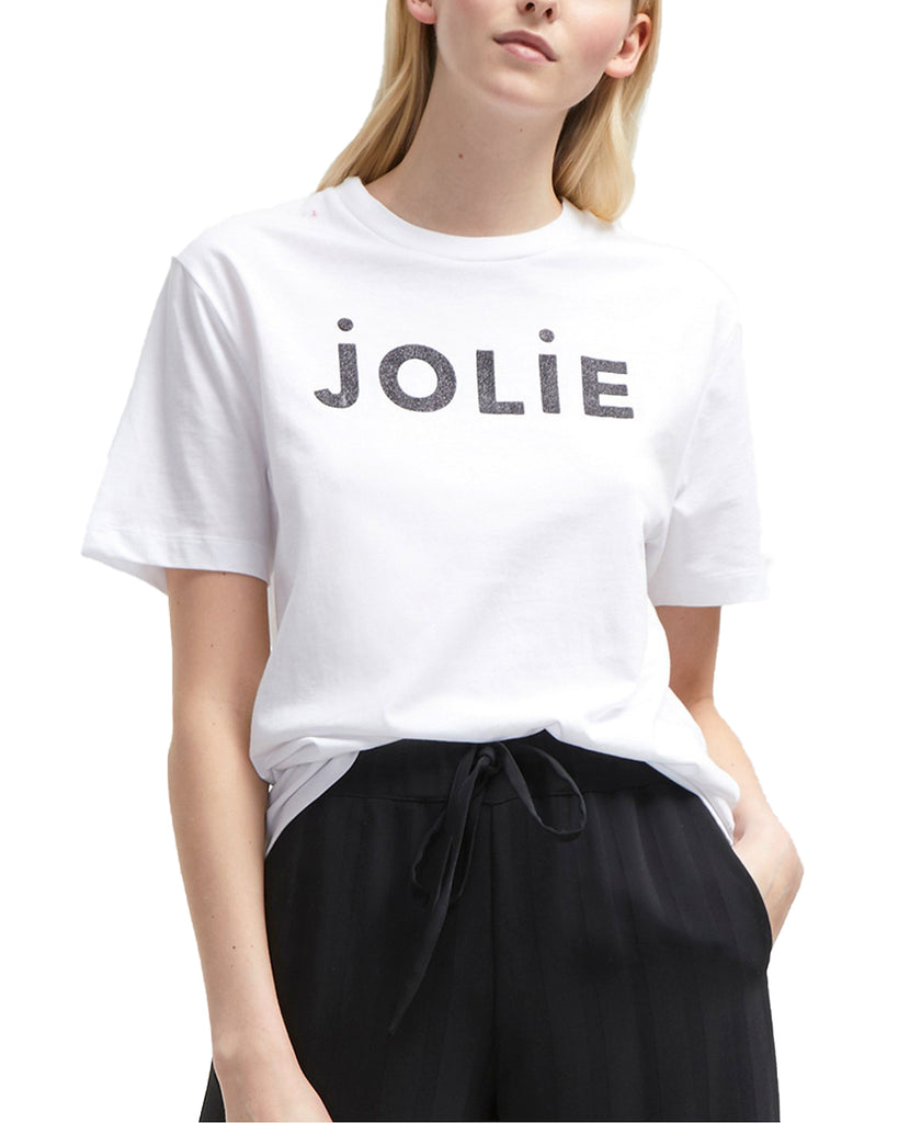 Yieldings Discount Clothing Store's Jolie T-Shirt by French Connection in White