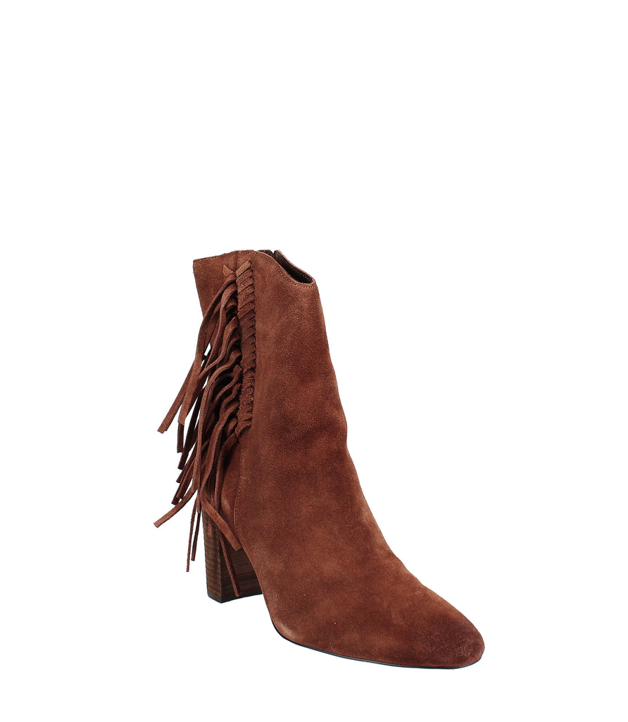 Yieldings Discount Shoes Store's Boulder Booties by Charles By Charles David in Chocolate Suede