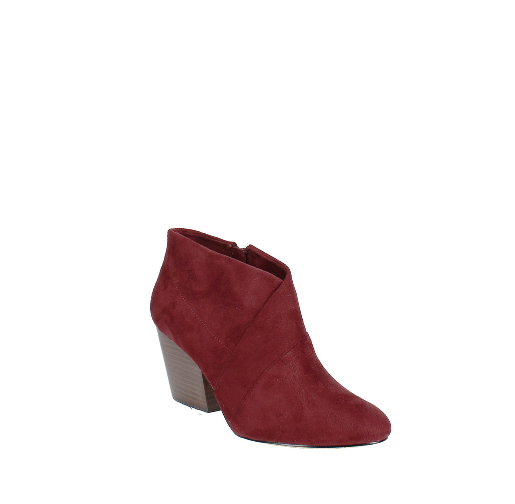 Yieldings Discount Shoes Store's Kira II Booties by Bella Vita in Burgandy