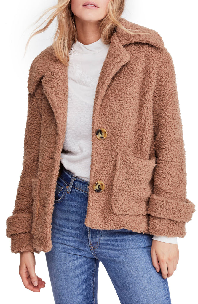 Free People | So Soft Cozy Peacoat