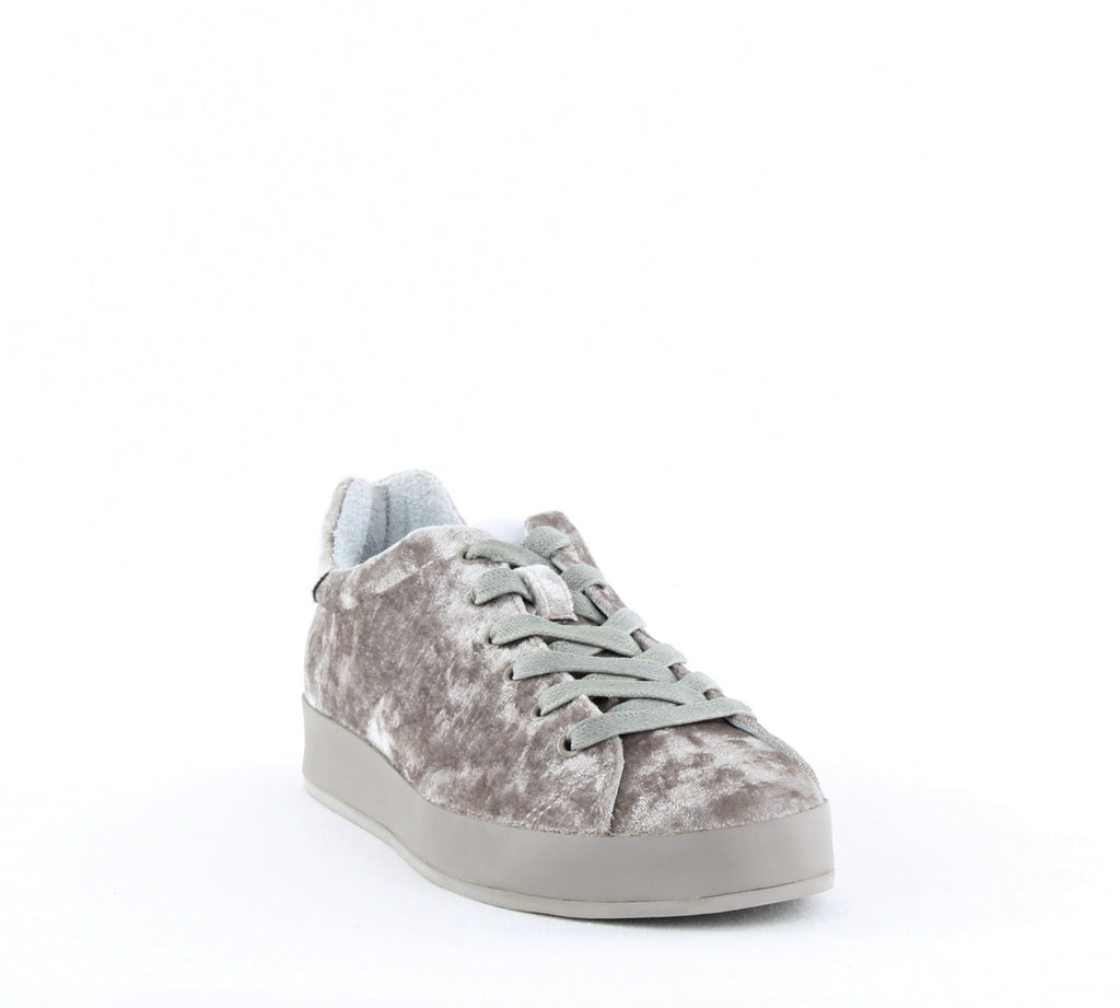 Yieldings Discount Shoes Store's RB1 Low Top Sneakers by Rag & Bone in Dove Velvet