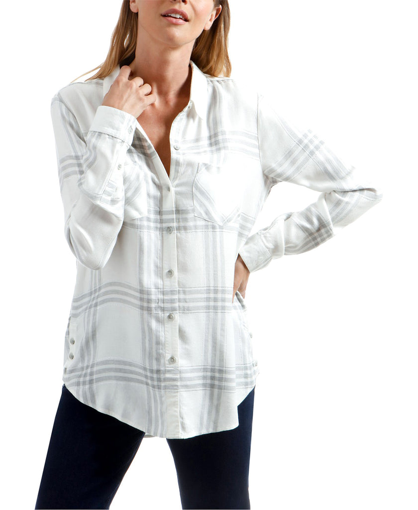 Lucky Brand | Button Side Plaid Shirt