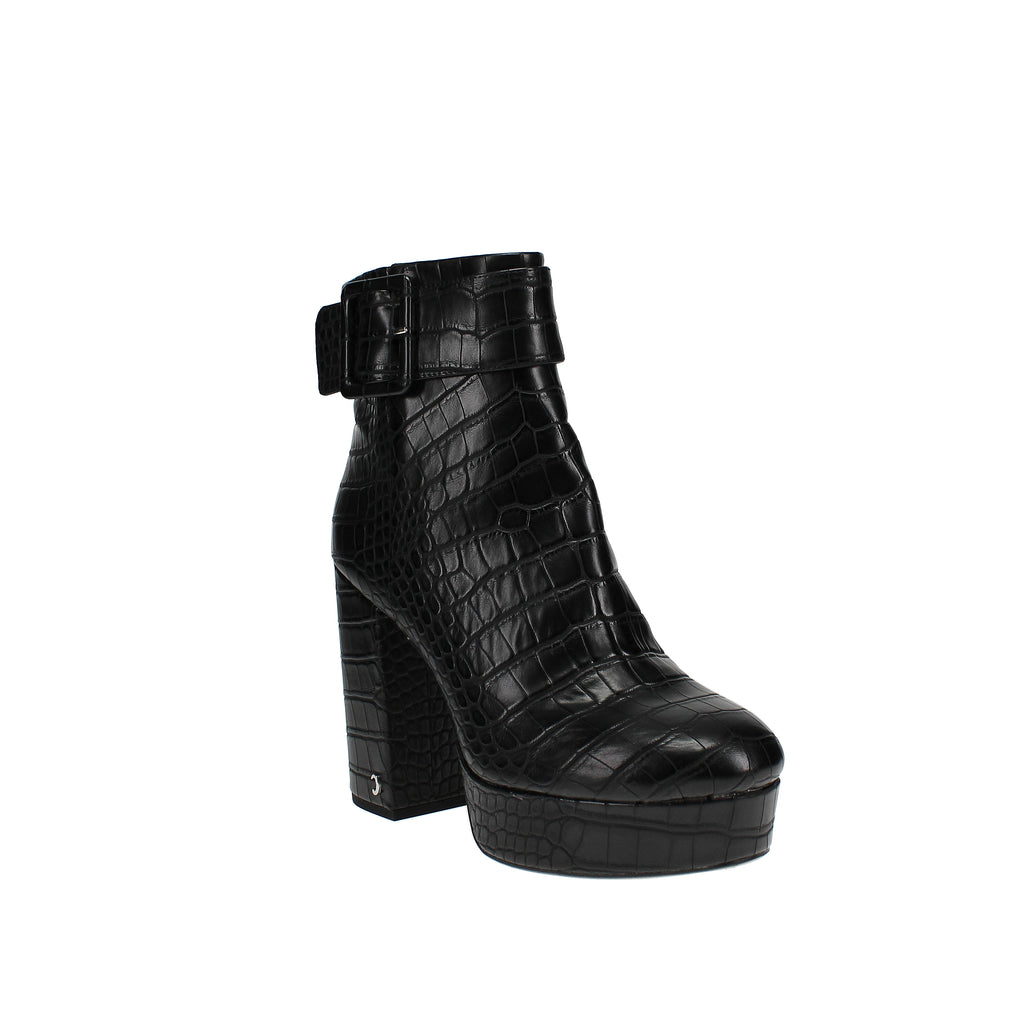 Yieldings Discount Shoes Store's Alie Platform Booties by Circus by Sam Edelman in Black