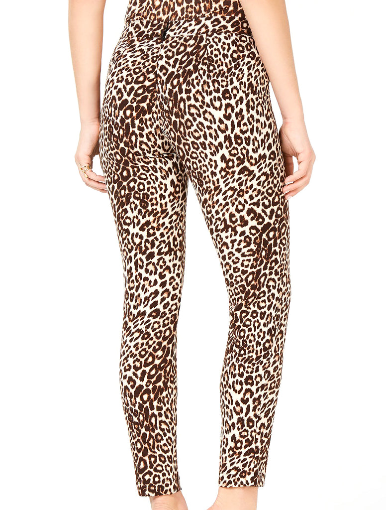 Guess | Double-Snap Animal-Print Pants