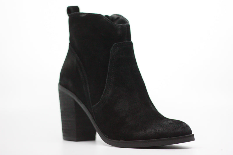 Yieldings Discount Shoes Store's Saint Suede Boots by Dolce Vita in Black
