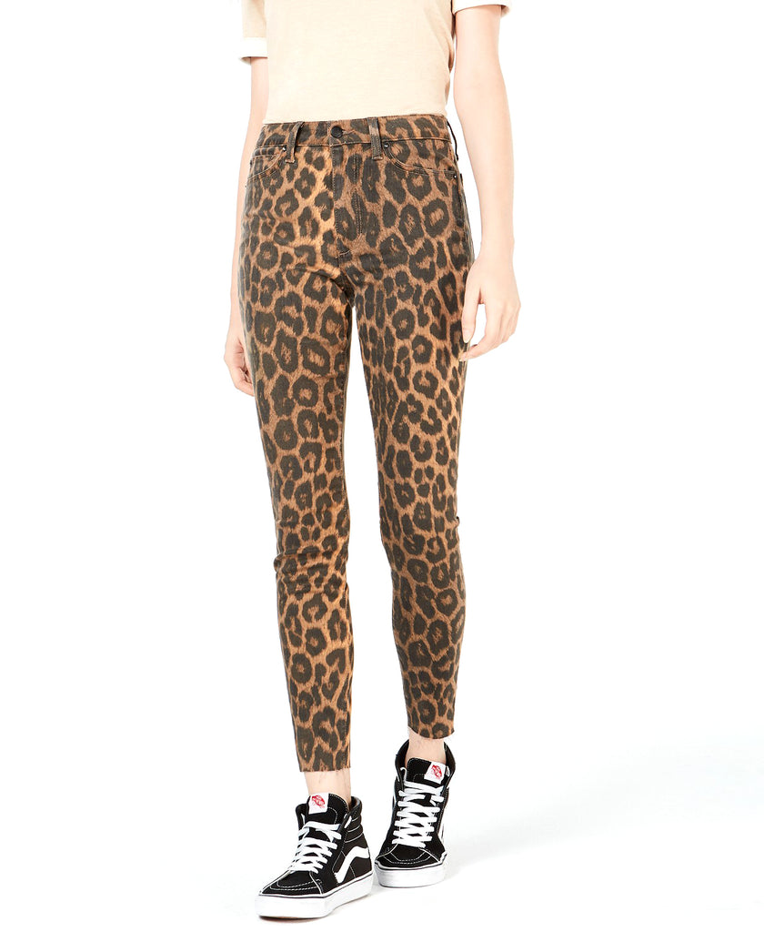 Yieldings Discount Clothing Store's Charlie Printed Skinny Jeans by Joe's in Leopard