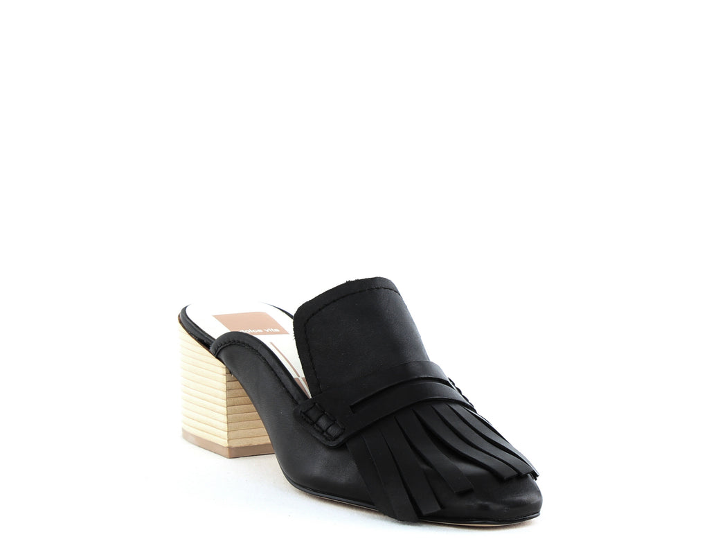 Yieldings Discount Shoes Store's Katina Block Heels by Dolce Vita in Black