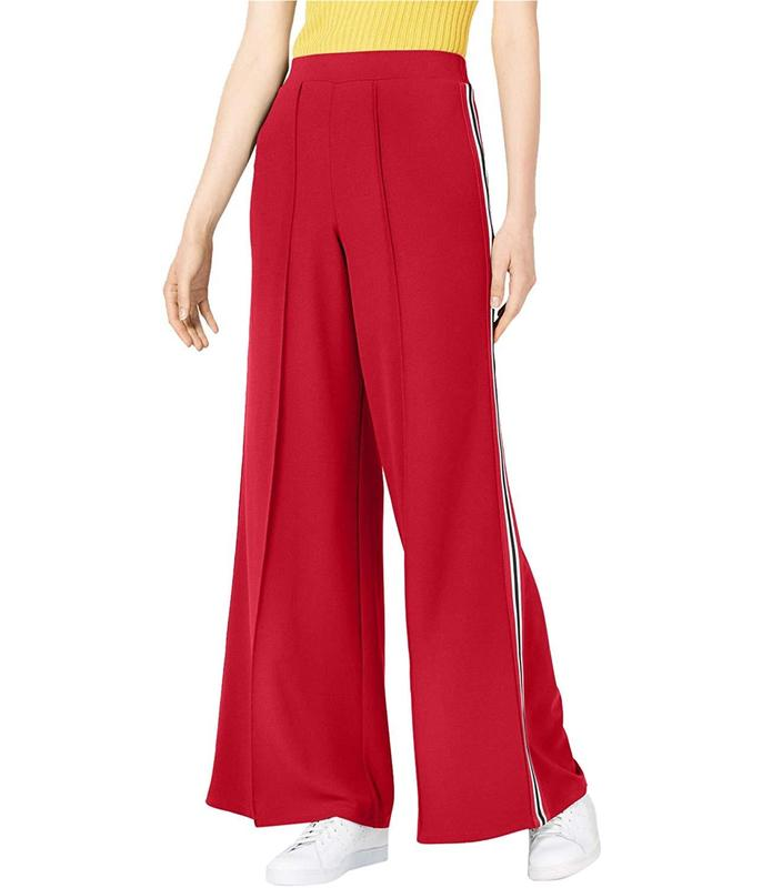 Yieldings Discount Clothing Store's Wide Leg Pull On Pants by Project 28 in Red