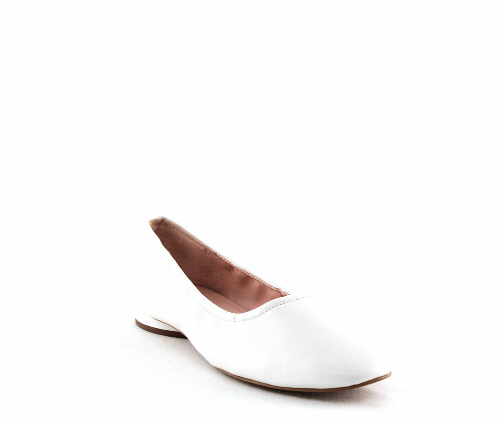 Yieldings Discount Shoes Store's Myrina Flats by Avec Les Filles in Ivory Cream