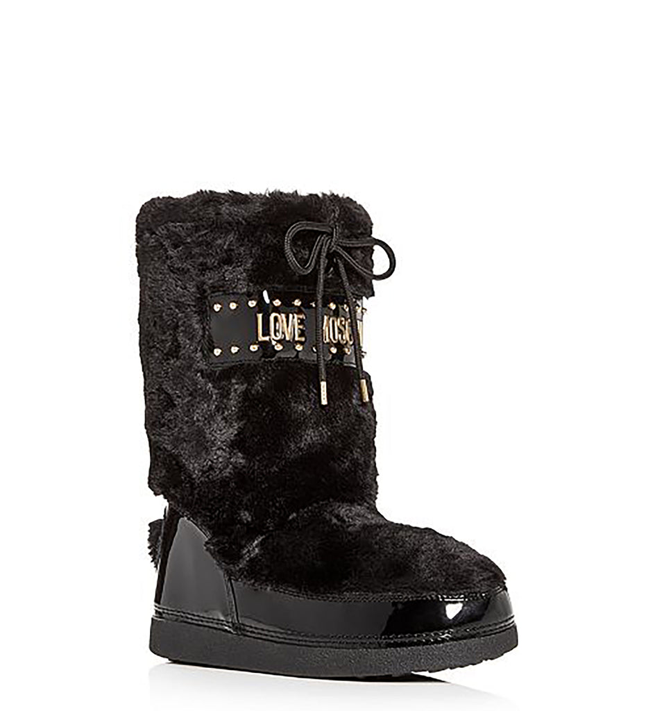 Love Moschino | All Over Faux Fur Boots