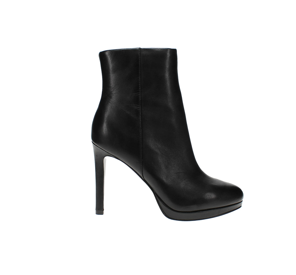 Yieldings Discount Shoes Store's Querida Platform Booties by Nine West in Black