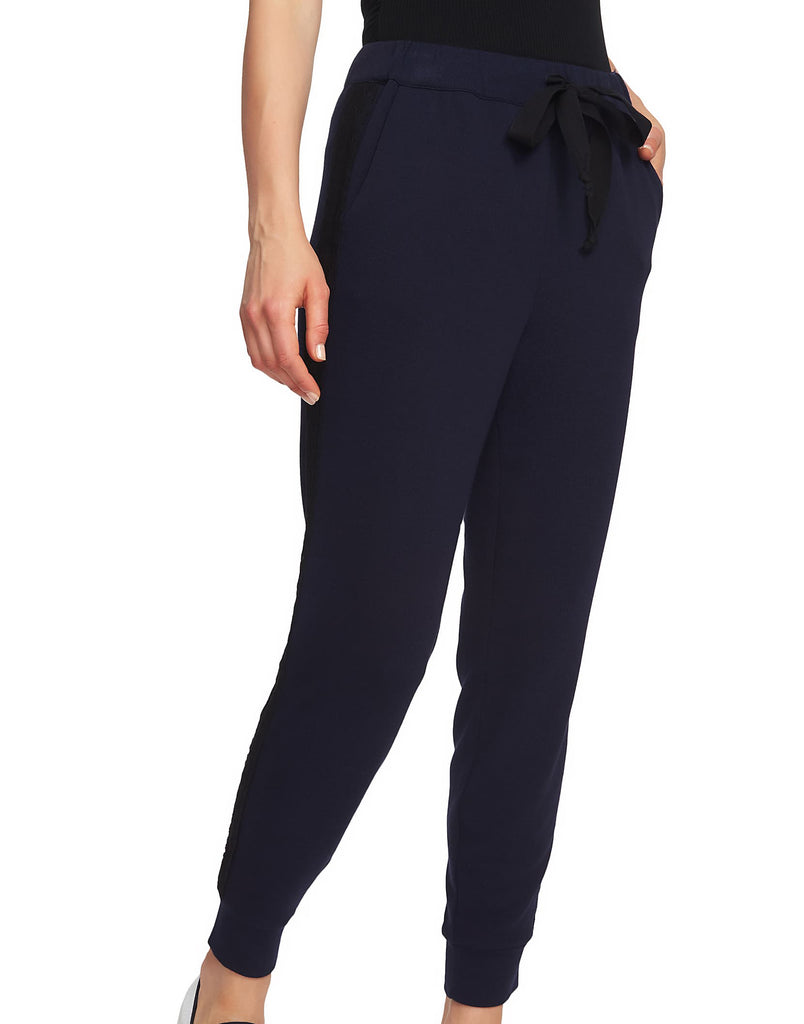 Yieldings Discount Clothing Store's Drawstring-Waist Jogger Pants by 1.State in Blue Night