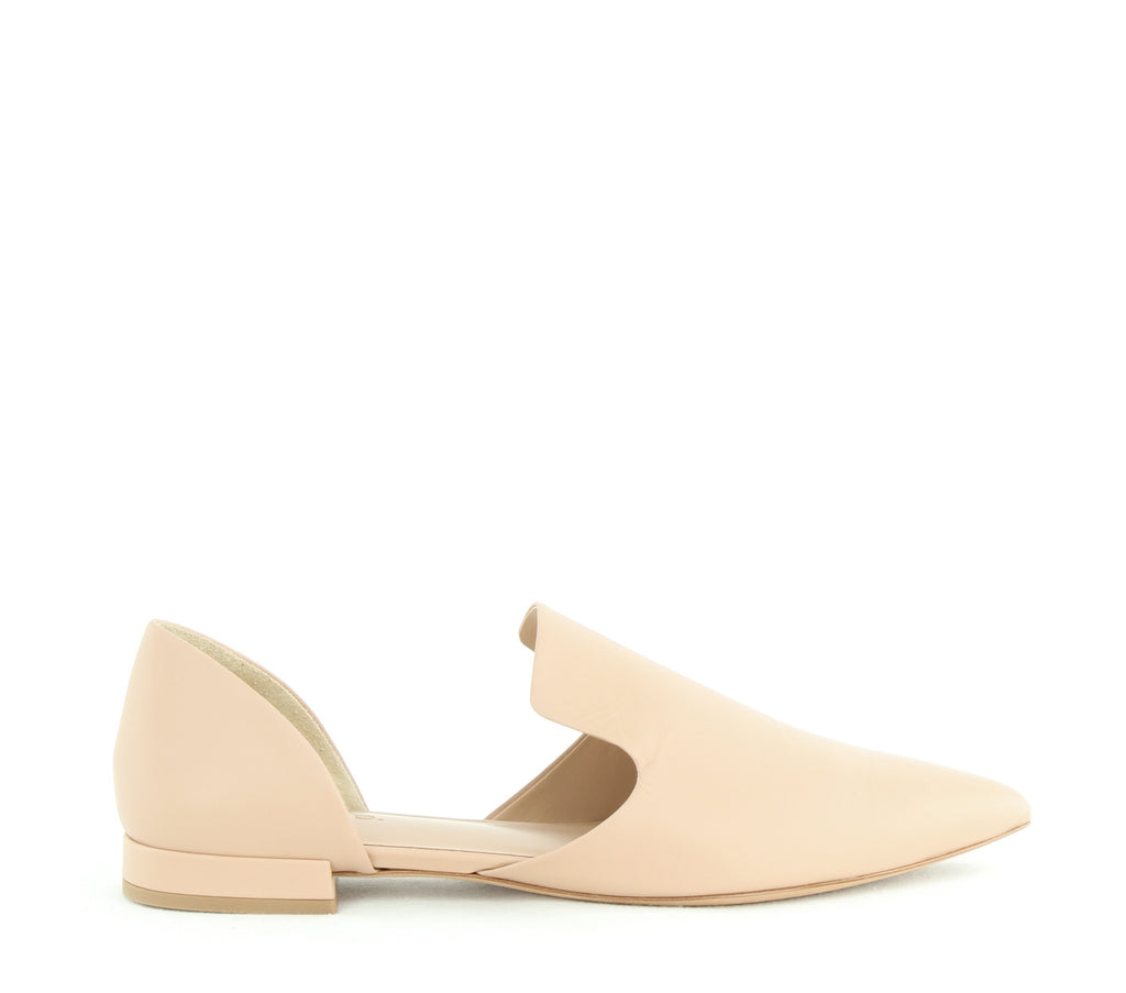 Vince | Damris Two Piece Leather Loafer Flat