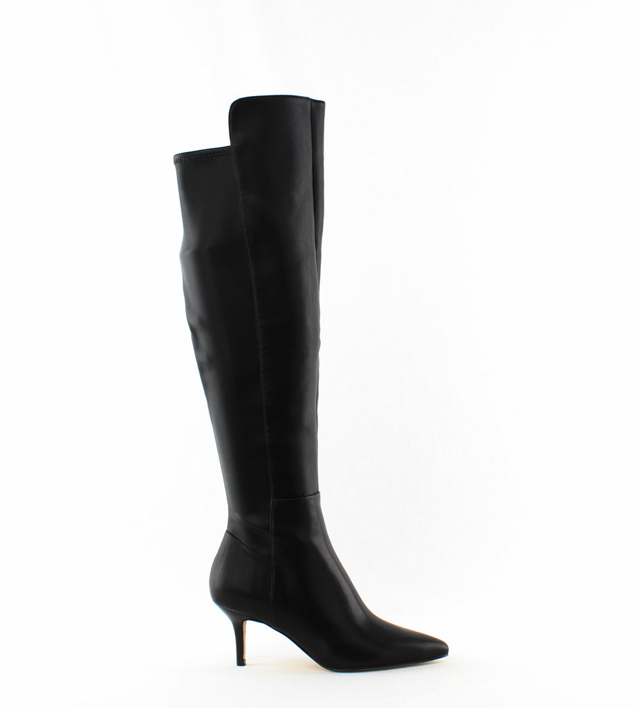 Yieldings Discount Shoes Store's Adana Over-The-Knee Boots by Marc Fisher in Black