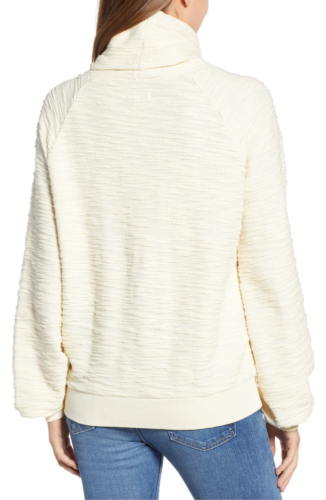 Yieldings Discount Clothing Store's Fairisle Turtleneck Pullover by Lucky Brand in White