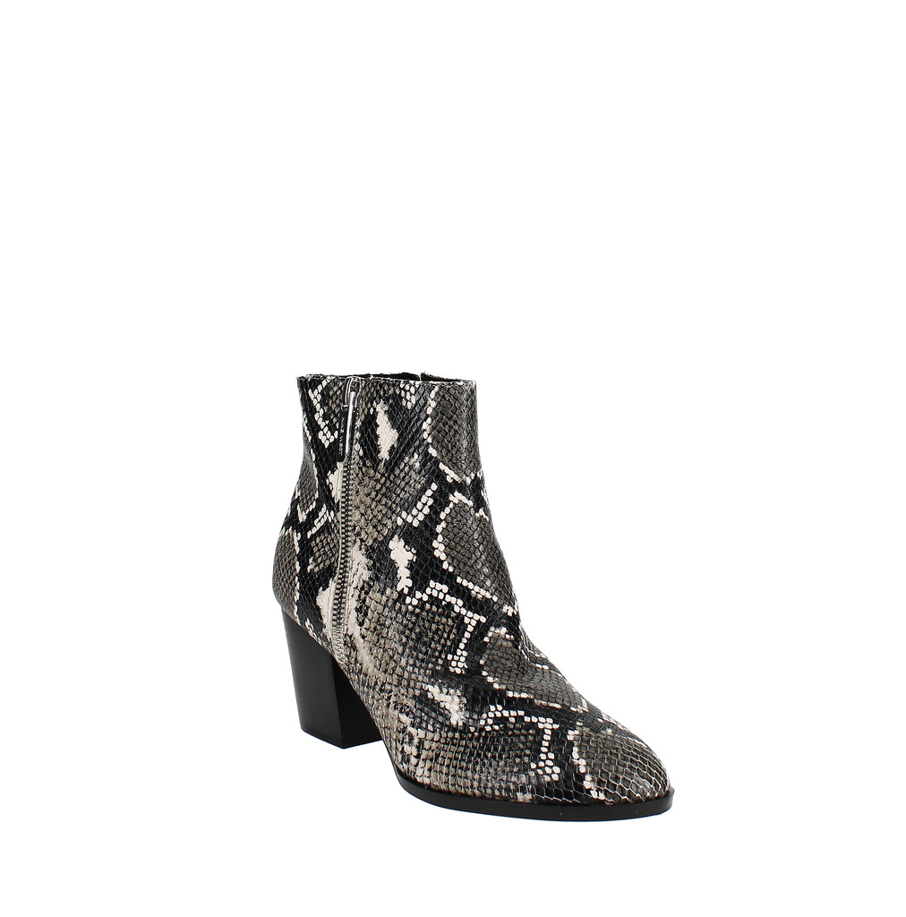 Yieldings Discount Shoes Store's Niomi Booties by Nine West in Gray Multi Leather