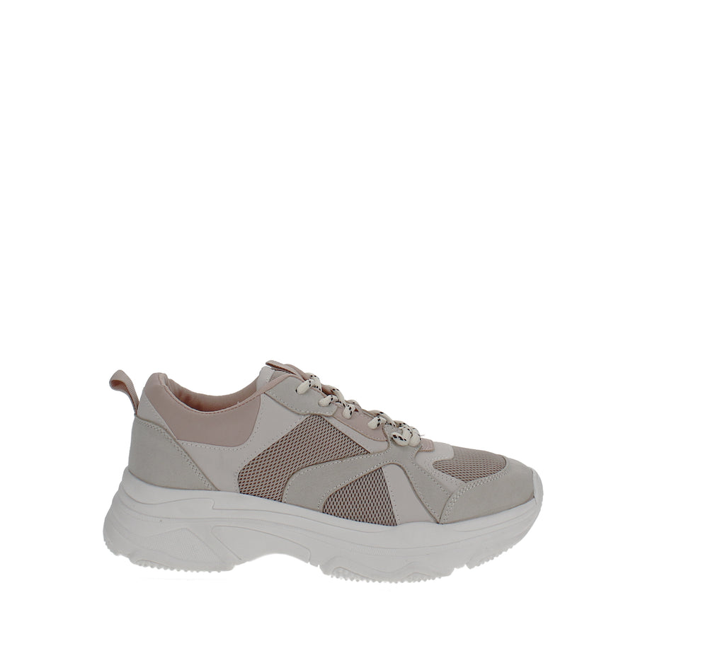 Yieldings Discount Shoes Store's Glenda Chunky Sneakers by INC in Blush