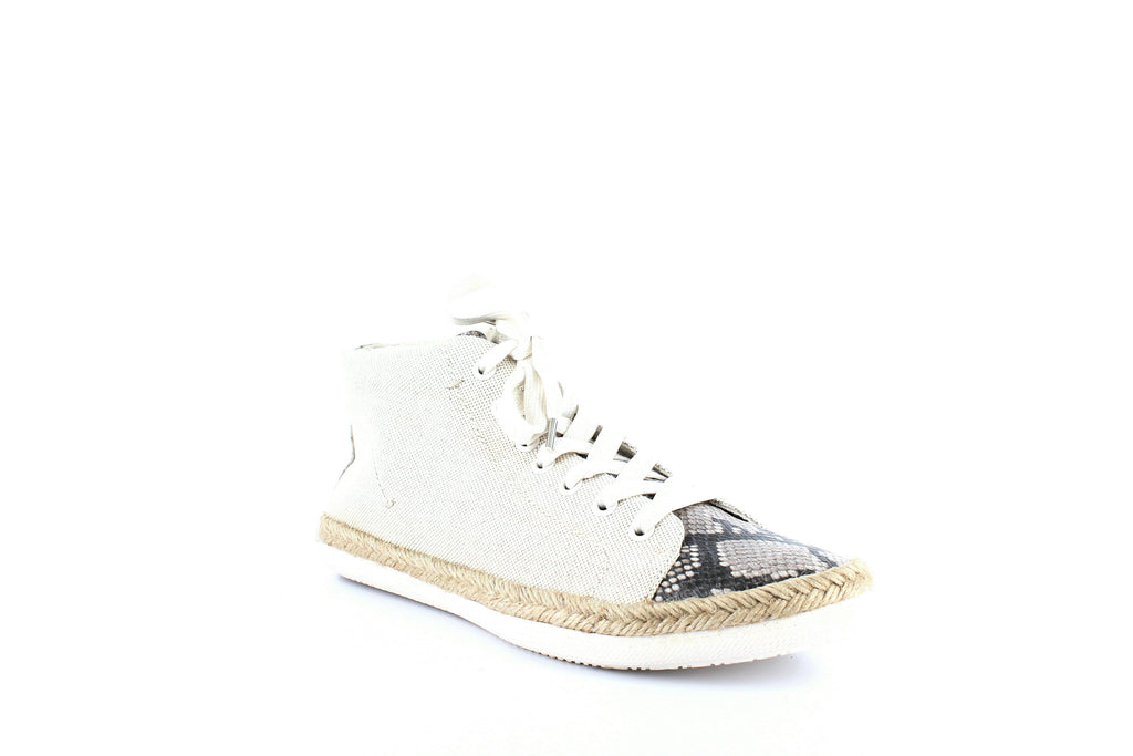 Yieldings Discount Shoes Store's Akello Espadrille High Top Sneakers by Dolce Vita in Natural Fabric