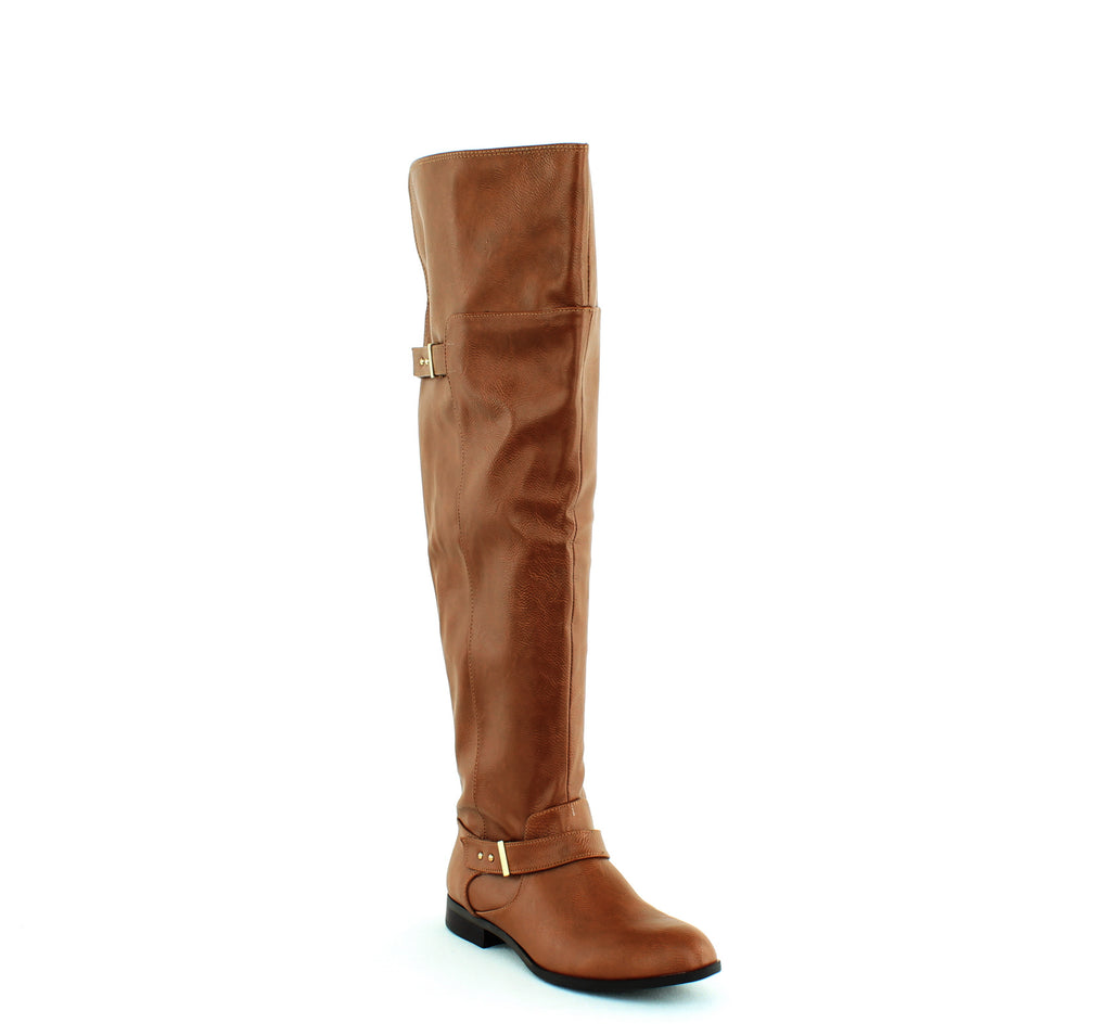 Yieldings Discount Shoes Store's Daphne Tall Boot by Bar III in Banana Bread