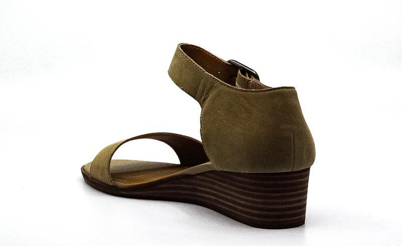 Yieldings Discount Shoes Store's Riamsee Wedge Sandals by Lucky Brand in Tan