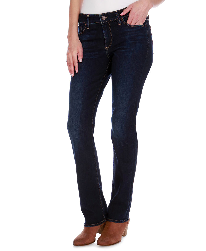 Yieldings Discount Clothing Store's Sweet Straight-Leg Jeans by Lucky Brand in Twilight Blue